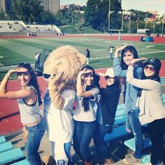 Nothing like poppin' a gamma with Roaree at the CU football game!