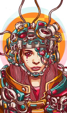 The Brain by Sanditio Bayu Estuputro, via Behance