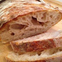 Bondbröd Ciabatta, Bread Baking, Bread Recipes, Brunch, Food And Drink, Favorite Recipes, Sweet, Baguette, Corner
