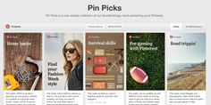 The INFORMATION DUNGEON: Pinterest Curates Its Own Content With New Weekly ...