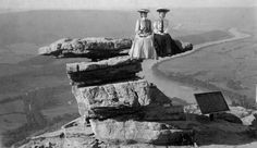 From the Civil War to World War II, Tennesseans bravely posed on a teetering rock stack high above Chattanooga.