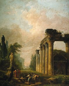 The Ruin by Hubert Robert DATE OF CREATION:	1789 AD