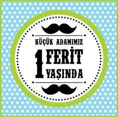 Ferit 1 Yaşında 03. Birthday Party Concept.