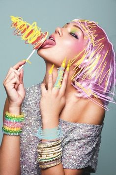 Candy Girl on Behance