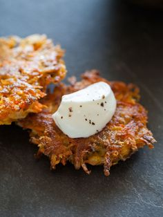 Root Vegetable Fritters | Appetizer recipe | Spoon Fork Bacon
