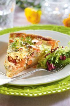 Brunch Menu, Sunday Brunch, Kitchen Kapers, Vegetable Tart, Easter Brunch, Easter Party, How To Cook Fish, Mothers Day Brunch, Bon Appetit