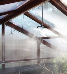 9 GREENHOUSE MISTING TIPS   Small-Greenhouse-Misting