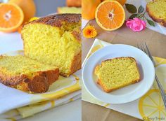 Low Calorie Orange Loaf Cake with Olive Oil recipe.