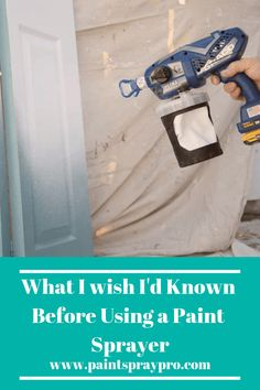 How do you choose the best latex paint Sprayer? What is the sprayer for latex paint out there to spray furniture or your kitchen cabinets? Our Buyer's Guide helps you choose your the right latex paint sprayer for your next project. Latex Paint Sprayer, Hvlp Paint Sprayer, Best Paint Sprayer, Using A Paint Sprayer, Paint Sprayers, Painting Walls Tips, Spray Painting, House Painting, Diy Interior Painting Tips