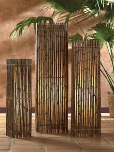 Tiki Style    Tiki-inspired decor can go beyond outdoor beach parties. These tiki floor lamps by Ibolili are perfect for more natural home decor.