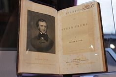 """First edition of Edgar Allan Poe's """"The Raven,"""" 1845 at University of Maryland Special Collections."""