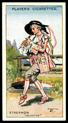 "https://flic.kr/p/gv8ysv | Cigarette Card -Strephon ~ Iolanthe | Player's Cigarettes  ""Gilbert & Sullivan"" (A series of 50 issued in 1925) #12 Strephon ~ Iolanthe"