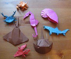 Origami sea life | Flickr - Photo Sharing!