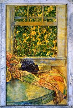Colonial Quilts - Frederick Childe Hassam - 1922