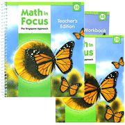 Math in Focus: The Singapore Approach Grade 3 Second Semester Homeschool Package