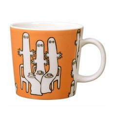 The orange Moomin mug featuring the Hattifatteners was released in 2006 and was…