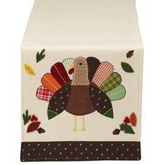 Turkey Embellished Table Runner