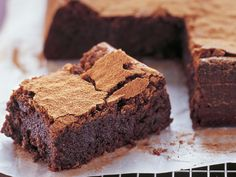 Serve this versatile fudge-like chocolate cake as a dessert with ice-cream, for morning or afternoon tea, or freeze in slices to pop into a work or school lunchbox.
