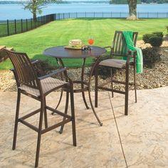 Panama Jack™ Island Breeze 3-Piece Bar-Height Patio Furniture Set : Target