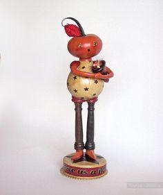 Авторские игрушки из папье маше Lisa Meehan