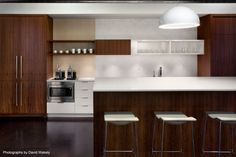Tolleson Design Kitchen with Last Minute Stool by Coalesse
