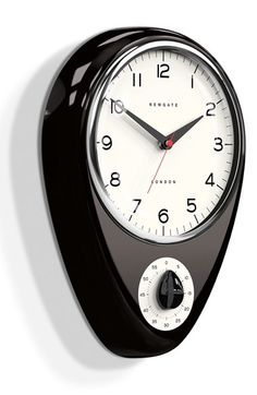 NEWGATE 'Discovery' Wall Clock & Kitchen Timer available at #Nordstrom