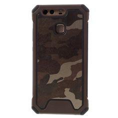 Coque Antichocs Huawei P9 Camouflage - Marron