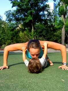 Exercise With Baby - Mom and Baby Exercises to Lose Baby Weight