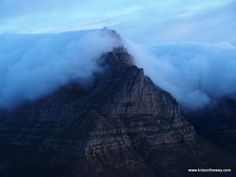 Table Mountain desde Lion's Head, Ciudad del Cabo, Sudáfrica