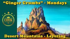 Desert Mountains - An Exercise in Layering - Beginner Acrylic Painting T...