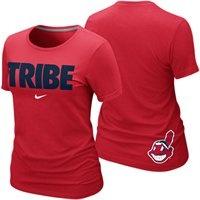 Nike Cleveland Indians Ladies Tribe Local Premium T-Shirt  @Fanatics   #FanaticsWishList