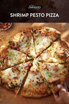 Think you don't have time to make homemade pizza during the week? Think again. In just 20 minutes, you'll have our Shrimp Pesto Pizza on the table and ready to eat. This easy recipe gets its Italian flavor from basil pesto, sun-dried tomatoes and a generous handful of Sargento® Chef Blends® Shredded 6 Cheese Italian. Get the full recipe for step-by-step instructions.