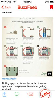 How to make the most out of your suitcase!