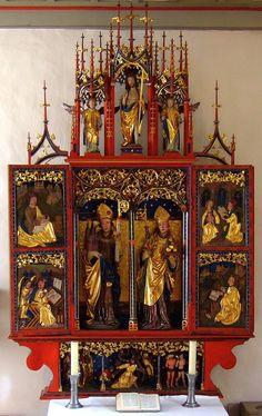 Altar St. Wolfgang Schwäbisch Hall