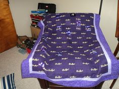 Crown Royal Blanket I had made for Jason's bday :)