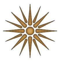 Το αστέρι της Βεργίνας είναι ένα ιστορικό ελληνικό σύμβολο της Μακεδονικής Βασιλικής Δυναστείας του Φιλίππου Β' και του Μεγάλου Αλεξάνδρου. The star of Vergina is a historic Greek symbol of the Macedonian royal dynasty of Philip II and Alexander the Great.AND IT IS ONLY GREEK!!!!!!!!!!!!!!!!!!!!!!!!!!!!!!!!!!!!!!!!!!!!!!!!!!!!!!!!!!!!!!!!!!!!!!!!!!!!!