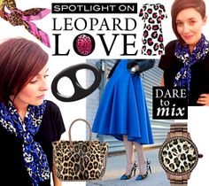 Scarf Ring Style Up - Leopard Love