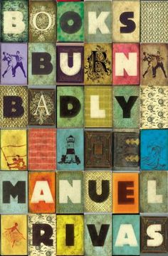 books burn badly by manuel rivas