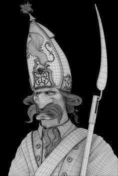 Hessian by Tyler Bolyard | Cartoon | 3D | CGSociety