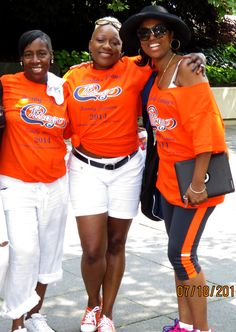 Renita, Sonya, and Tee Cee!