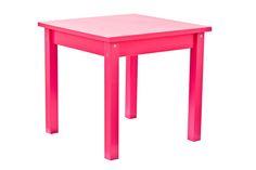 Fandango Pink Children Table by Hoppekids