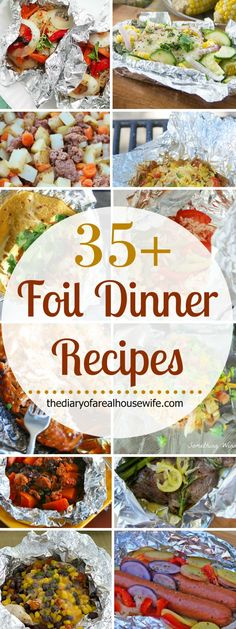 Awesome foil dinner recipe ideas.