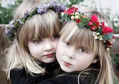 Semana de las flores: DIY, corona de flores para niñas