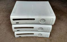 LOT of 3 - Xbox 360 Console - For Parts or Repair NON HDMI version…