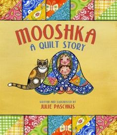 Very sweet sibling book. I'm sending a copy to my grandma, who has made us all quilts from many-storied fabrics.