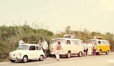 Une activité à faire à Valence : une ballade en combi Volkswagen