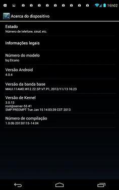 Tablet/Smartphone bq Elcano