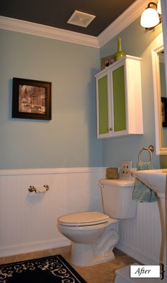 1000 images about windowless bathroom on pinterest for Windowless kitchen ideas