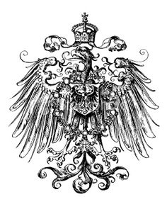 8898294 imperial eagle most resembling that used on the coat of arms of the german empire in the. Black Bedroom Furniture Sets. Home Design Ideas