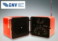 "#Brionvega #Cube #radio, retromodel ""TS 522"" from 2004. This #electronics company, established in #Milan in 1945, is an #Italian #design #icon!    Discover #GNV routes from/to #Italy here: http://www.gnv.it/en/ferries-destinations.html?view=gnvmap"